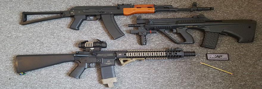 Airsoft : achat d'armes en ligne