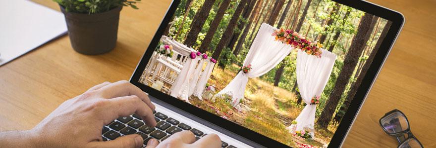 décoration de mariage en ligne