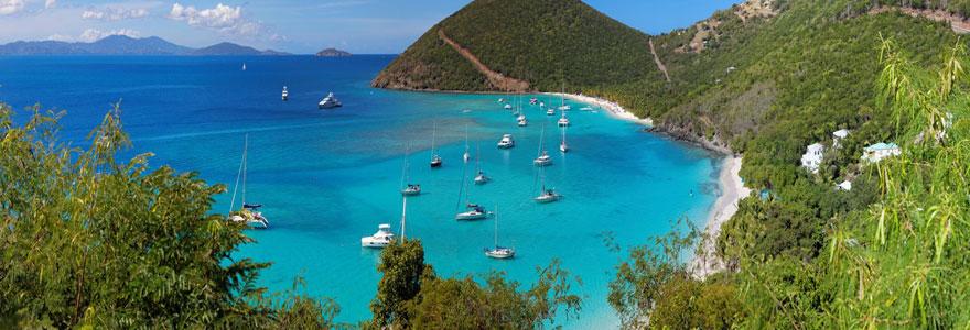 Des vacances de rêves dans les Îles Vierges britanniques