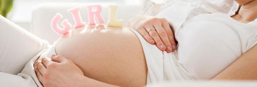 enceinte d'une fille