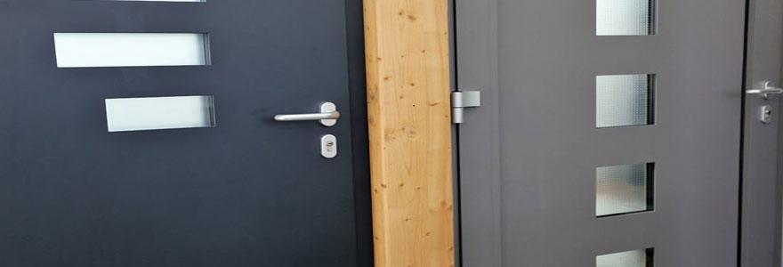 un spécialiste de la pose de portes d'entrée en Alsace
