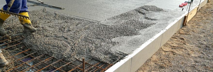 coffrage en beton