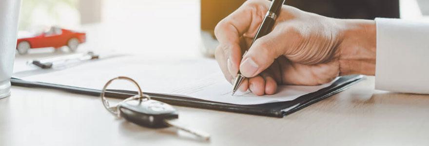 Souscrire un contrat d'assurance pour son véhicule