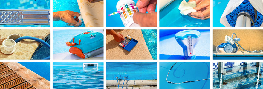 accessoires de piscines