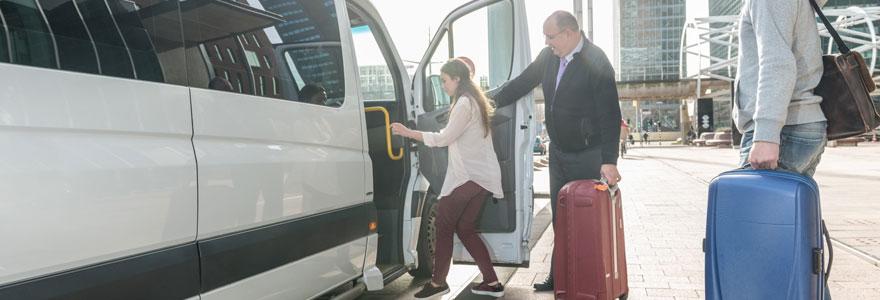Les navette en départ de tous en direction des aéeroport d'Orly et de Roissy