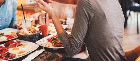 Manger à Touques