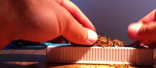 Tuber une cigarette