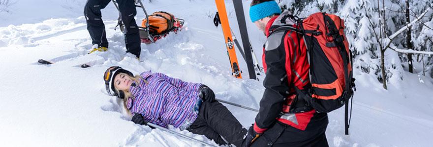 Se protéger contre les accidents de ski