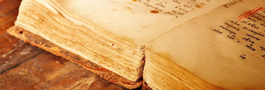 Achat de copies de manuscrits de grands philosophes